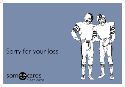 Sorry For Your Loss Sports Ecard