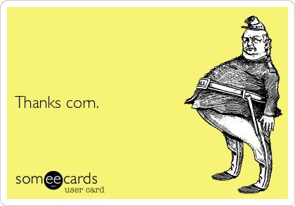 Thanks corn.