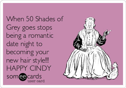 When 50 Shades Of Grey Goes Stops Being A Romantic Date Night To