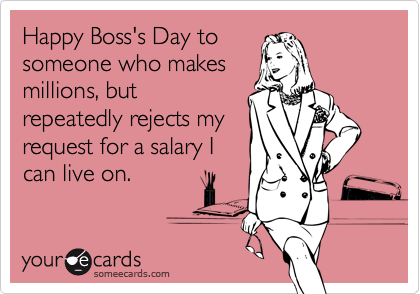 Happy Boss's Day to
