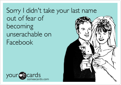 Sorry I didn't take your last name out of fear of