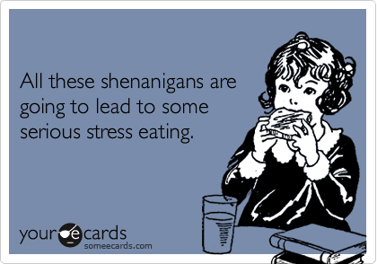 All these shenanigans are