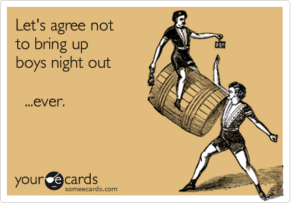 Let's agree not 