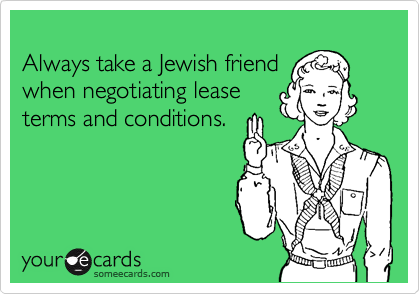 Always take a Jewish friend