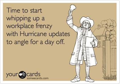 Time to start
