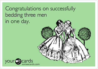 Congratulations on successfully