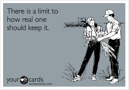 There is a limit to 