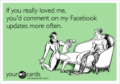 If you really loved me, 