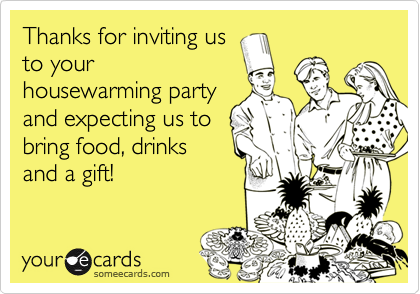 Thanks for inviting us