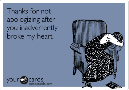 Thanks for not 