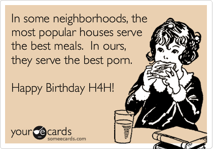 In some neighborhoods, the