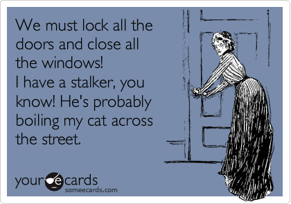 We must lock all the 