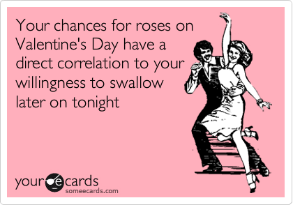 Your chances for roses on Valentine's Day have a
