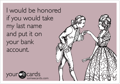 I would be honored