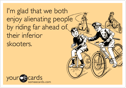 I'm glad that we both