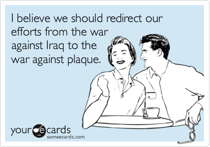 I believe we should redirect our efforts from the war 
