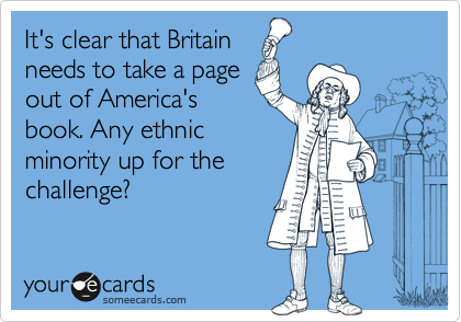 It's clear that Britain