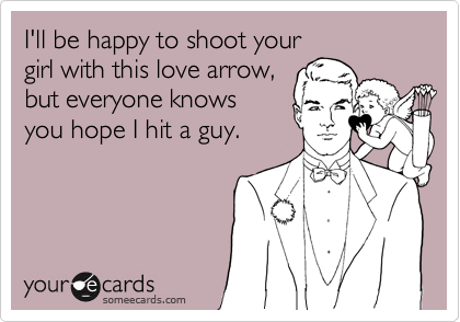 I'll be happy to shoot your 