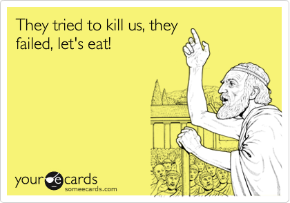 They tried to kill us, they