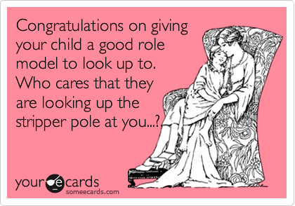 Congratulations on giving