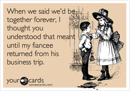 When we said we'd be