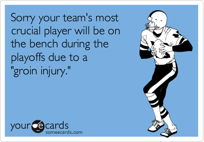 Sorry your team's most