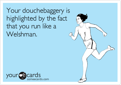 Your douchebaggery is
