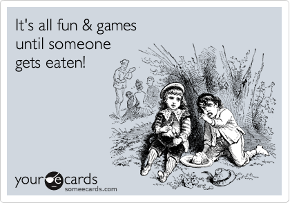 It's all fun & games 