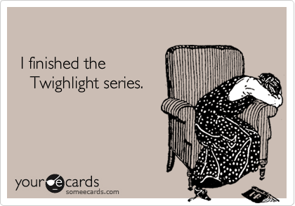 I finished the 
