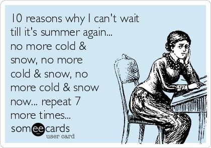 10 Reasons Why I Canu0027t Wait Till Itu0027s Summer Again... No