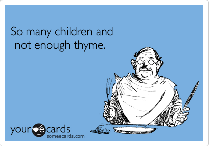 So many children and 