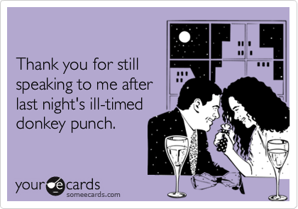 Thank you for still
