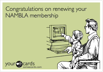 Congratulations on renewing your NAMBLA membership