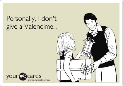 Personally, I don't give a Valendime...