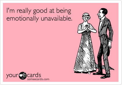 what makes a person emotionally unavailable