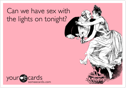 Have sex tonite