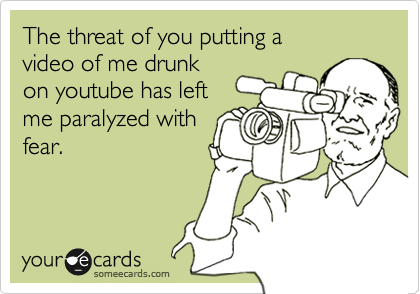 The threat of you putting a 