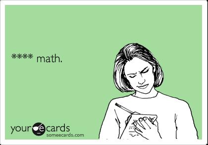 **** math.