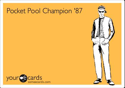 Pocket Pool Champion '87