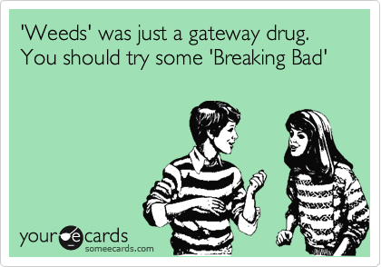 'Weeds' was just a gateway drug. You should try some 'Breaking Bad'