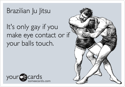 Its only gay if the balls touch