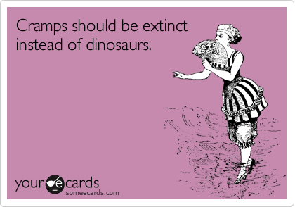 Cramps should be extinct instead of dinosaurs.