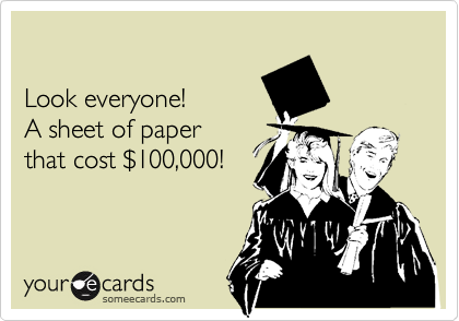 Look everyone!  A sheet of paper that cost %24100,000!