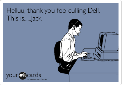Helluu, thank you foo culling Dell. This is......Jack.