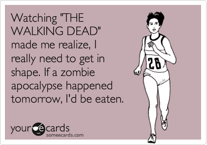 walking dead cards flirting zombies valentines funny ecard