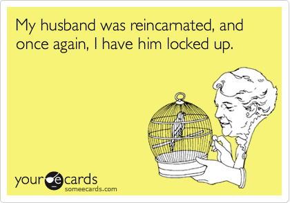 My husband was reincarnated, and once again, I have him locked up.