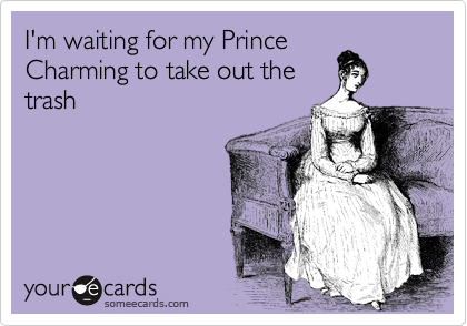 waiting for my prince