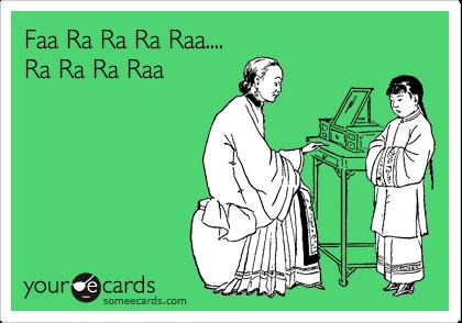 Faa Ra Ra Ra Raa.... Ra Ra Ra Raa