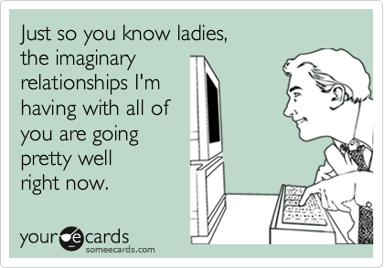 Are you imaginary relationship