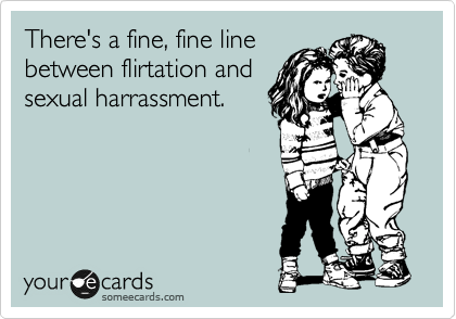Sexual flirtation